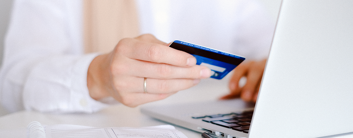 Women Using Credit Card Online